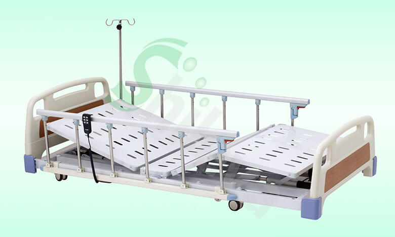 ABS电动三功能超低床-SLV-B4130,ABS-Three-function Electric Super Low Medical bed